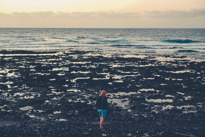 Teneryfa. El Medano. Plaża. Playa