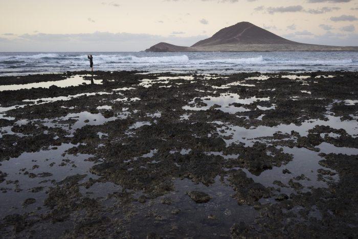 Teneryfa. El Medano. Plaża. Playa. Ocean
