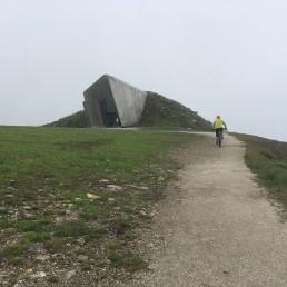 o podjeżdżaniu Kronplatz Muzeum Messnera