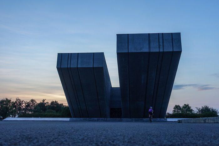Oderske vrchy. Muzeum drugiej wojny światowej Hrabyne